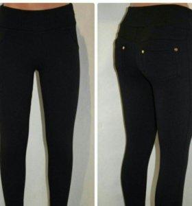 Новые теплые брюки (лосины) на флисе