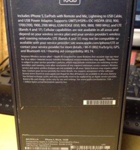 iPhone 5,black, 16GB