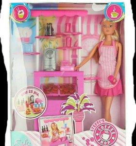 Кукла Штеффи-продавец пирожных. Simba.