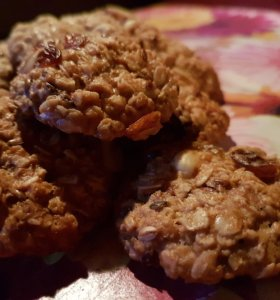 Печенье домашнее (овсяное, злаковое)