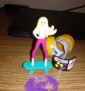 Кукла Барби из киндер сюрприза