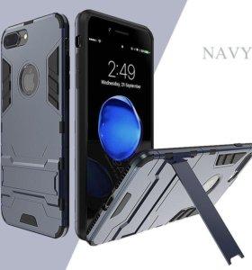 чехол бампер для Iphone6 и 6S c подставкой