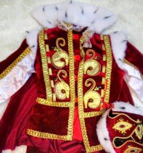 Детский новогодний костюм КОРОЛЯ, рр.34