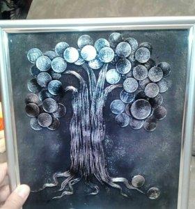 Подарок денежное дерево