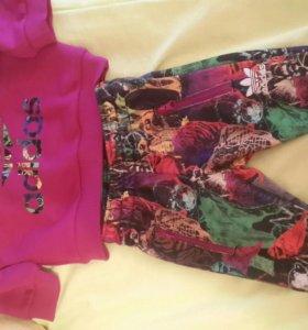 Спортивный костюм abibas для девочки