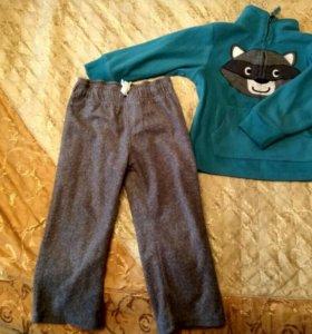 Флисовый костюм Carter's (2t) 86-92 р-ры