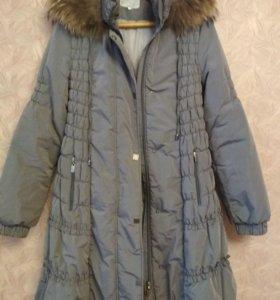 Зимнее пальто для беременных Modress, 46 р-р