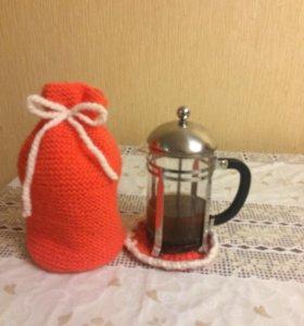 Грелка и подставка для чайника