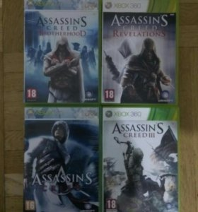 Assassin's creed на XBOX 360