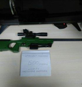 Игрушечная снайперская винтовка AWP