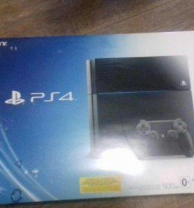 Playstation 4 500Gb. Консоль в отличном состоянии