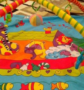 Игровой коврик детский.