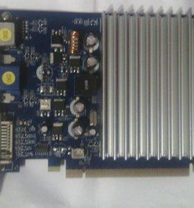 Видеокарта geforce 7300gt PCI-E DDR2