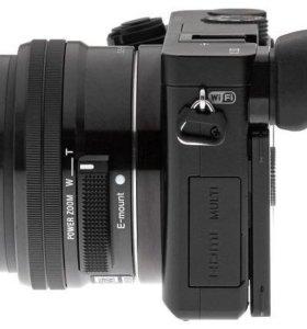 Фотоаппарат  Sony alpha a6000 kit 16-50 mm Black.