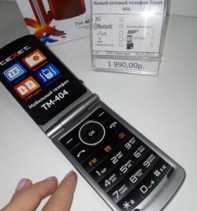 Новый телефон Texet