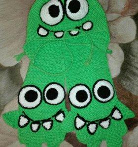 Шапочка и шарф« ам ням»