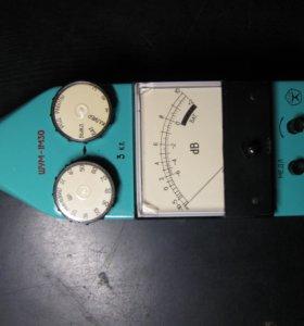 Усилитель с микрофоном калибровки звука ШУМ-1М30