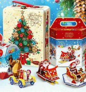 Новогодние подарки( конфеты)