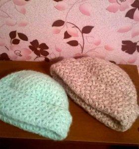 Стильные шапочки ручной работы