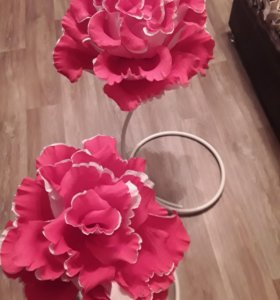 Напольные розы