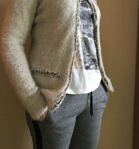 Теплая кофта- пиджак