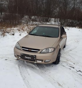 Chevrolet Lacetti 2008 года, 1.6 МТ