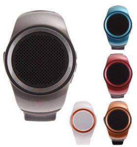 Колонка-часы-bluetooth