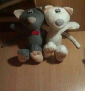Мягкие игрушки пара