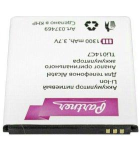 На Alcatel 4024D аккумулятор