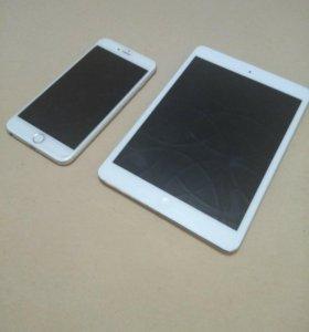 iPhone 6 Plus и iPad