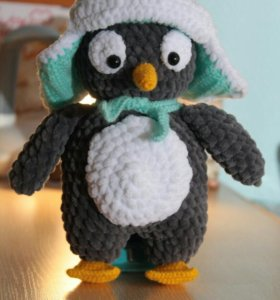 Плюшевые пингвины