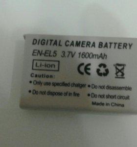 Аккумулятор на фотоаппарат