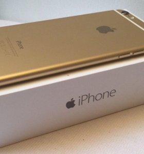 Айфон 6 64 с Отпечатком Золотой