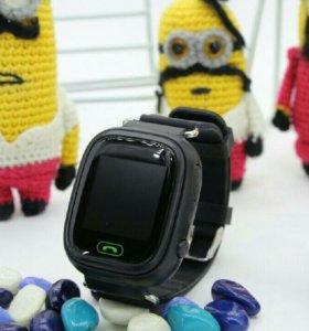 Умные часы Q90 Черные!!! Сертификат гарантия!
