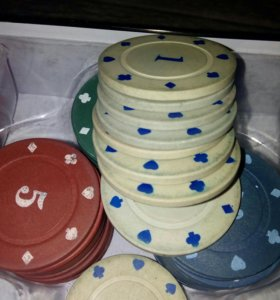 Фишки для покера.