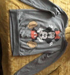 Свитер Disney на флисе