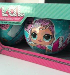 Кукла LOL в шаре 3 в 1