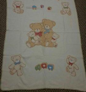 Детское фланелевое одеяло