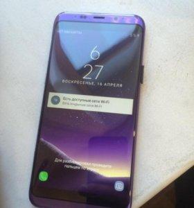 Samsung Galaxy S8 + фиолетовый 16гб