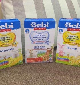 Молочные каши Bebi