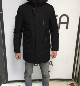 Куртка удлинённая зимняя 50 размер
