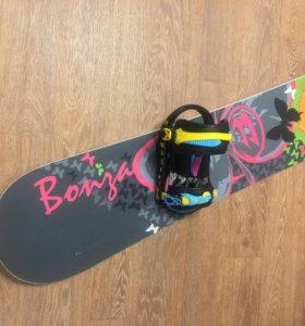Комплект (сноуборд+крепления+ботинки)