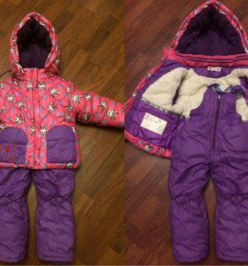 Детский зимний костюм и сапожки.