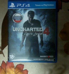 Игра для PS4-UNCHARTED 4