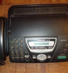 Факс Panasonic KX - FT 78 с автоответчиком.