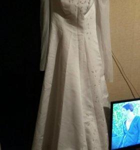 Свадебное платье 48-50