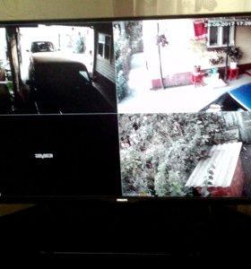 системы видеонаблюдение, домофоны