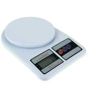 Весы электронные кухонные до 7 кг LuazON SF400