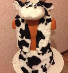 Корова меховая для девочки