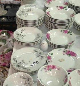 Штучные тарелки